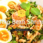 Wing Bean Shrimp Salad